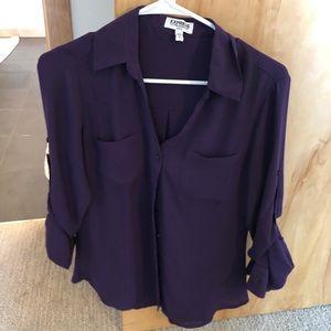 Express portofino shirt size small